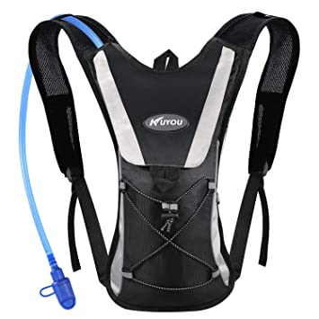 63f6c914d4 Kuyou Professional Hydration Backpack, Water Bag Backpack with 2L Hydration  Pack Water Bladder Perfect for Hiking Backpack Cycling Rucksack Climbing  Camping ...