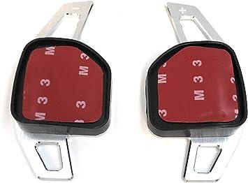 H Customs Dsg Schaltwippen Verlängerung Shift Paddle Alu Silber Type A A3 S3 Rs3 2013 A4 S4 Rs4 2012 A5 S5 Rs5 2012 A6 S6 Rs6 2012 A8 S8 2012 Q5 Q7 R8 2012 Auto