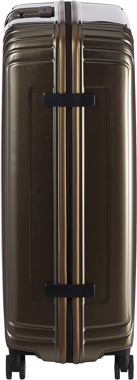 55 cm Handgep/äck Spinner S schwarz 44 L Breite: 23 cm Matte Black Samsonite Neopulse