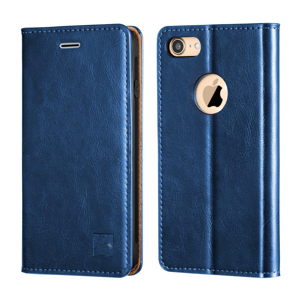 iphone 8 blue wallet case