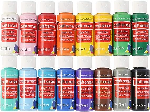 Craft Smart Acrylic Paint Set Value Pack