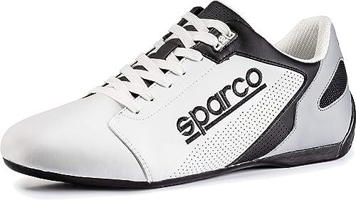 Sparco Slippers Sl 17 Schwarz Weiß Größe 39 Schuhe Handtaschen