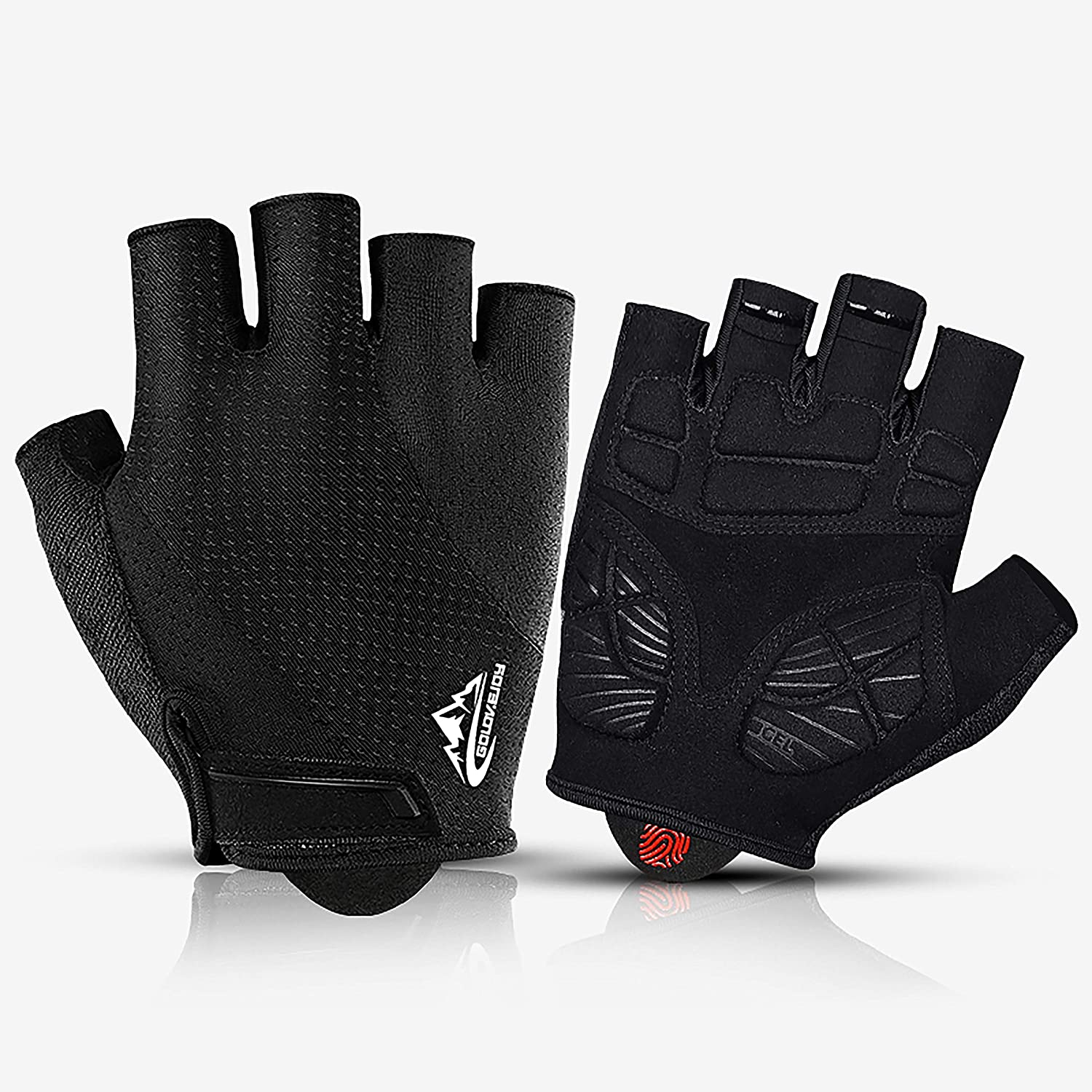 Bicycle Cycling Gloves Gym Exercise Climbing Mountain Padded Half Finger Gloves
