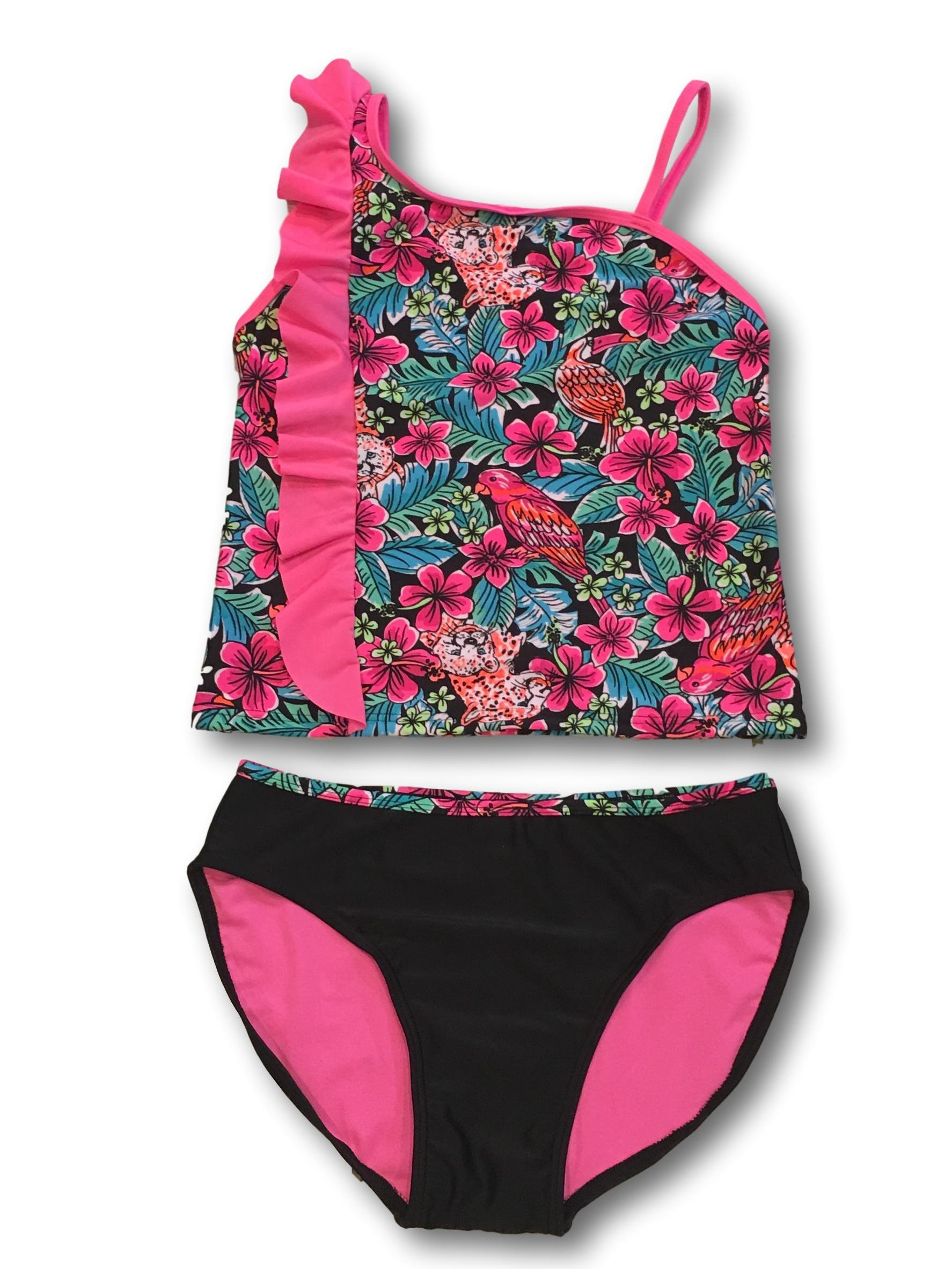Xhilaration Tankini Swimsuits for Girls (Medium (7/8))