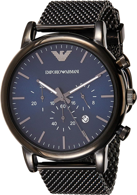 Emporio Armani Men s AR1979 Dress Gunmetal Watch
