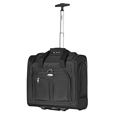 c724f9260 Amazon.com | Olympia Under The Seat Carry-on, Black | Carry-Ons