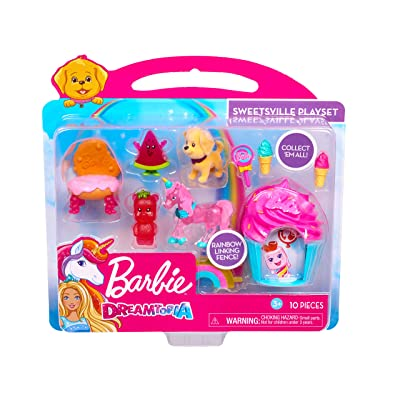 Barbie Dreamtopia Figure Sweetsville Playsets: Toys & Games