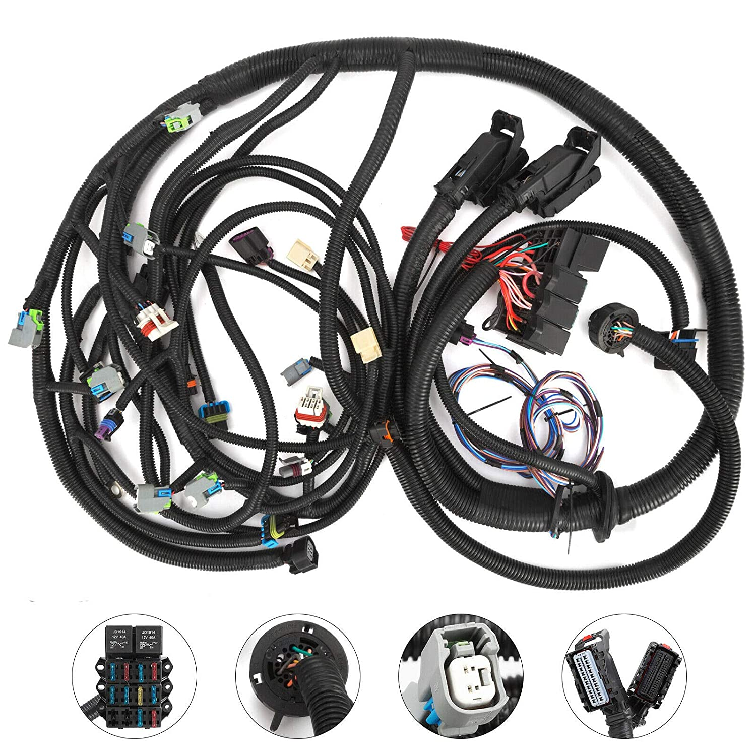 Mophorn 2008-2015 LS3 6.2L PSI STANDALONE WIRING HARNESS W/6L80E on dog harness, pony harness, suspension harness, safety harness, cable harness, nakamichi harness, battery harness, radio harness, amp bypass harness, maxi-seal harness, oxygen sensor extension harness, fall protection harness, alpine stereo harness, obd0 to obd1 conversion harness, electrical harness, engine harness, pet harness,