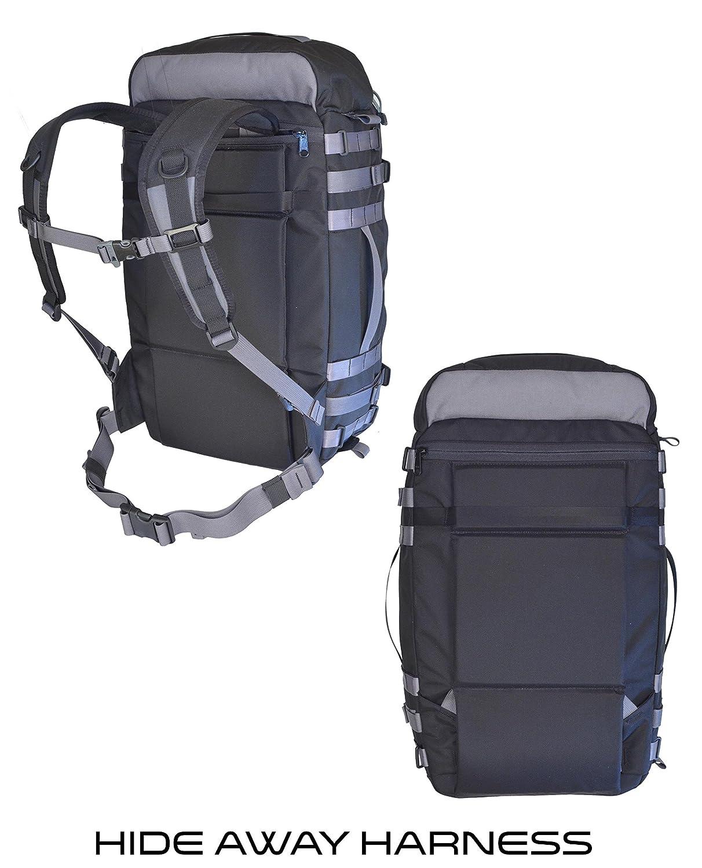 Grey Large Velo Transit 170513 VITAL GEAR Modular Adventure Travel Backpack