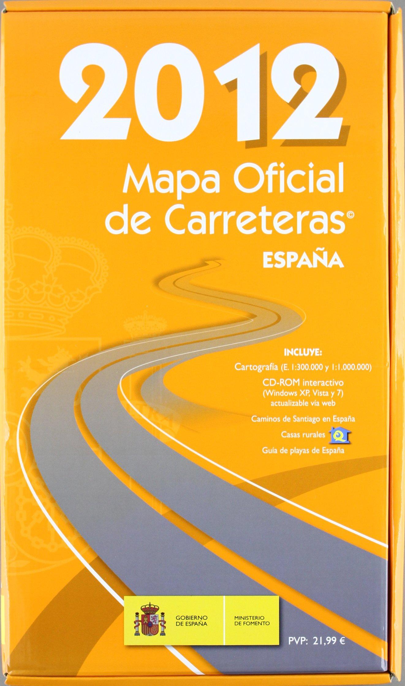 Mapa Oficial de Carreteras 2012. Edición 47.: Amazon.es: Secretaría General Técnica. Centro de Publicaciones, Ministerio de Fomento: Libros