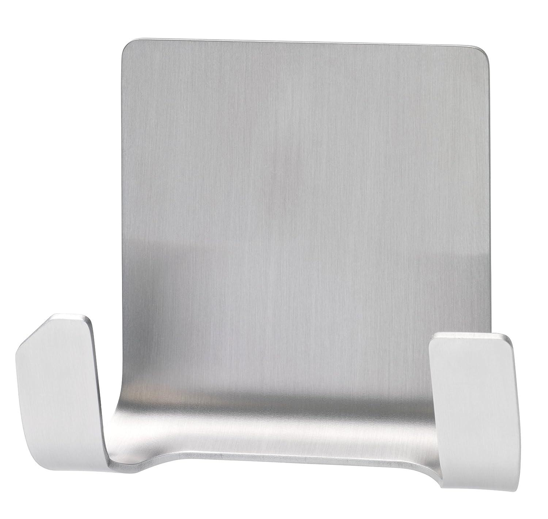 Tesa 59710-00000-01 Powerstrips Waterproof Zoom Doppio Gancio Adesivo Metallo