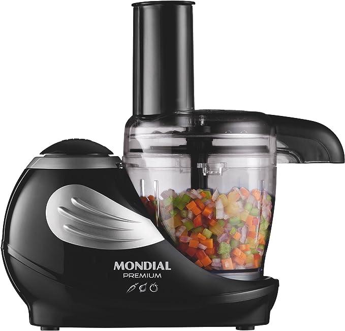 Mondial Premium MP-02 Procesador de alimentos, 160 W, 0.31 litros, PU Acero Inoxidable: Amazon.es: Hogar