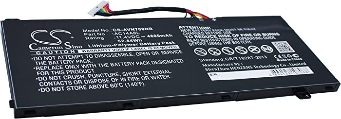 GAXI Battery for Acer Aspire VN7-571G, Aspire VN7-591, Aspire VN7-591G Replacement for P/N AC14A8L, AC14A8L(3ICP7/61/80), AC15B7L