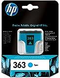 HP 363 Cartouche d'encre d'origine Cyan