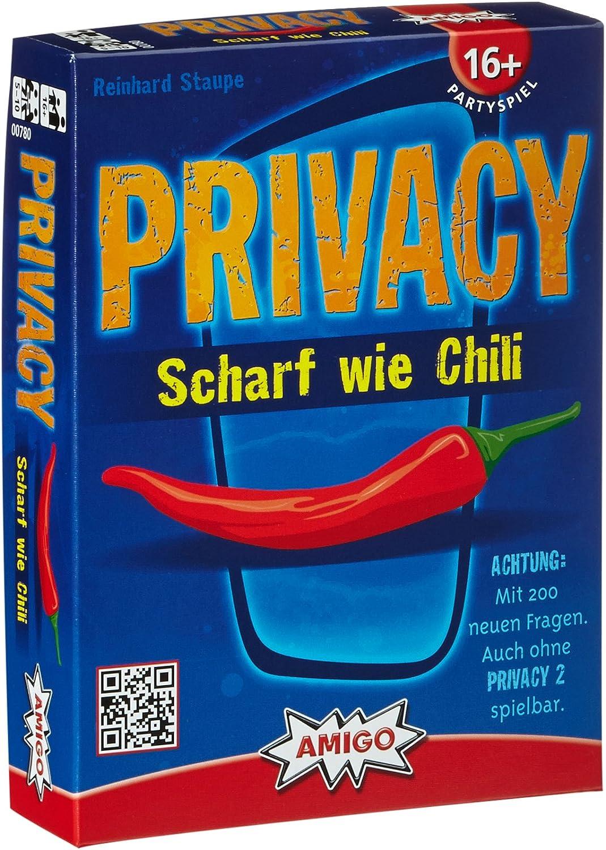 Privacy – Scharf wie Chilli – Partyspiel