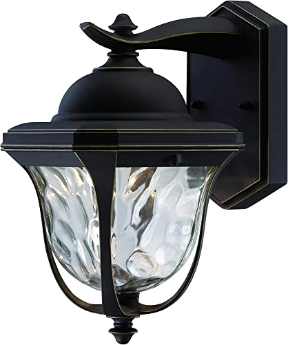 Designers Fountain LED21921-ABP Marquette 6 Inch Led Wall Lantern