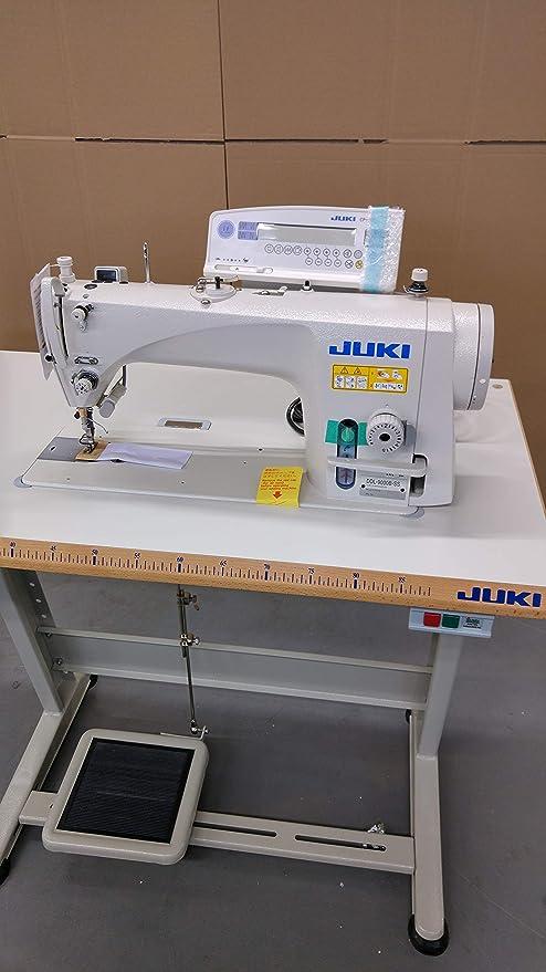 JUKI Máquina de Coser Industrial DDL 9000BSS, cortadora de Hilos, Totalmente automática, máquina de Coser Industrial, Completa (con Mesa y Soporte): Amazon.es: Hogar