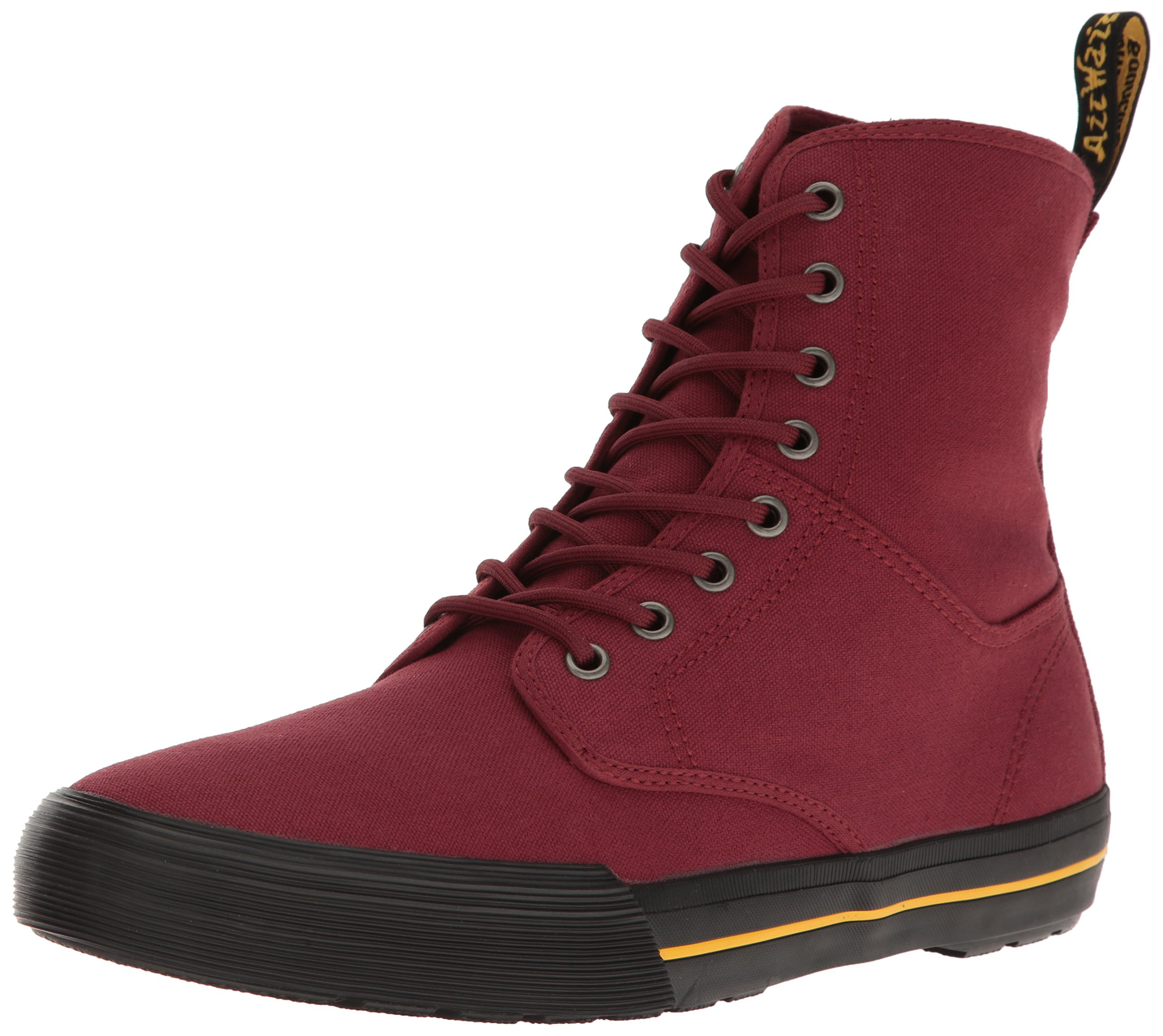 Dr. Martens Men's Winsted Chukka Boot, Cherry Red, 9 UK/10 M US