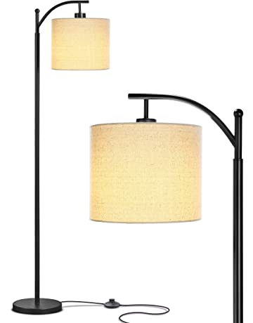 7638b0fe4a5e Brightech Montage - Bedroom   Living Room LED Floor Lamp - Standing  Industrial Arc Light with