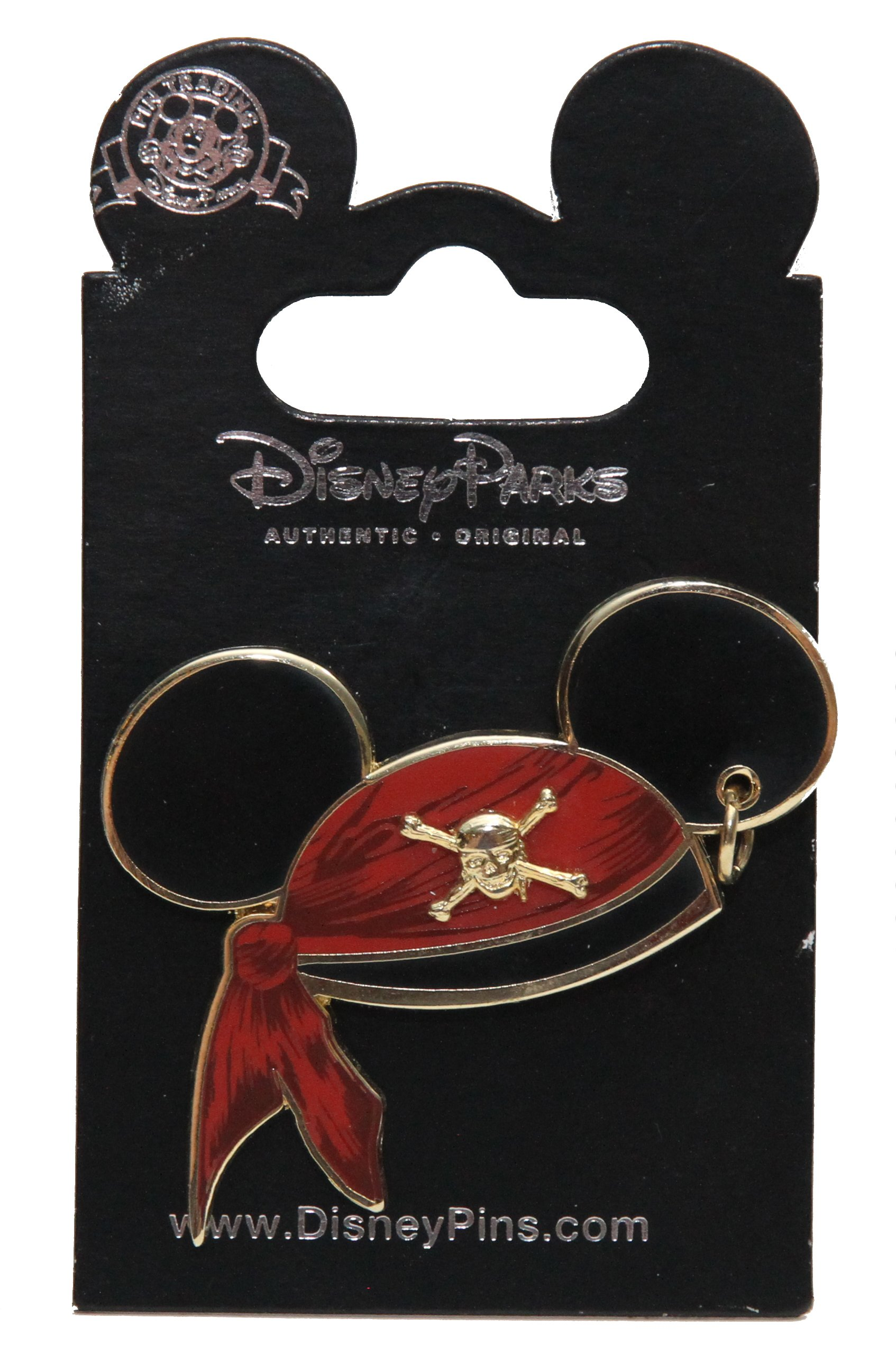 Disney Pins - Pirates of the Caribbean - Mickey Mouse Pirate Ear Hat - Pin 47059