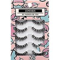 JIMIRE False Eyelashes Natural Multipack Fake Lashes