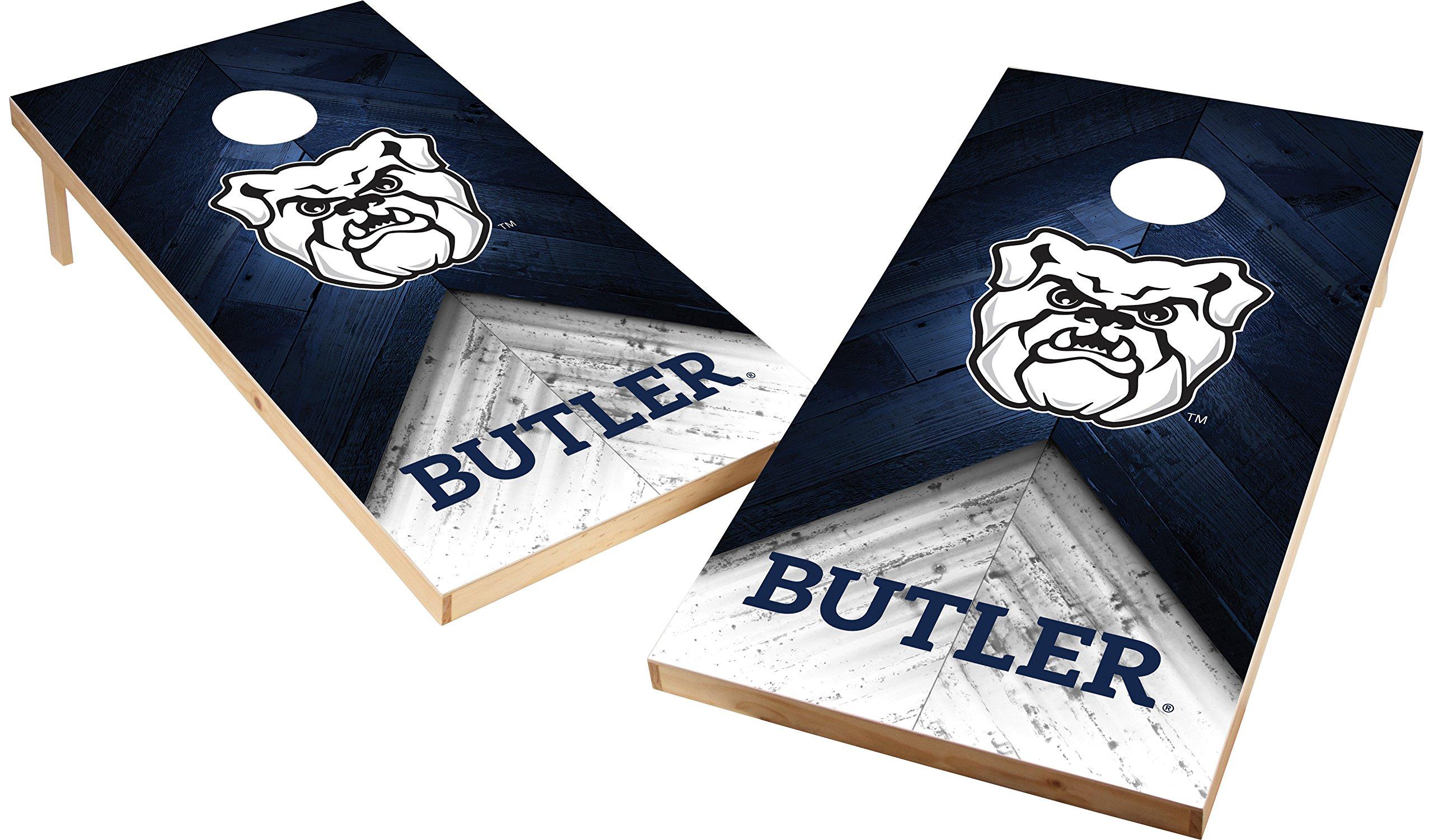 Wild Sports NCAA College 2'x4' Butler Bulldogs Cornhole Set