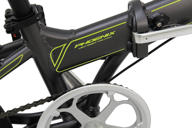 Amazon.com : PHOENIX FOLDING BIKE 20 Aluminum 7 Speed with Disc Brakes : Sports & Outdoors