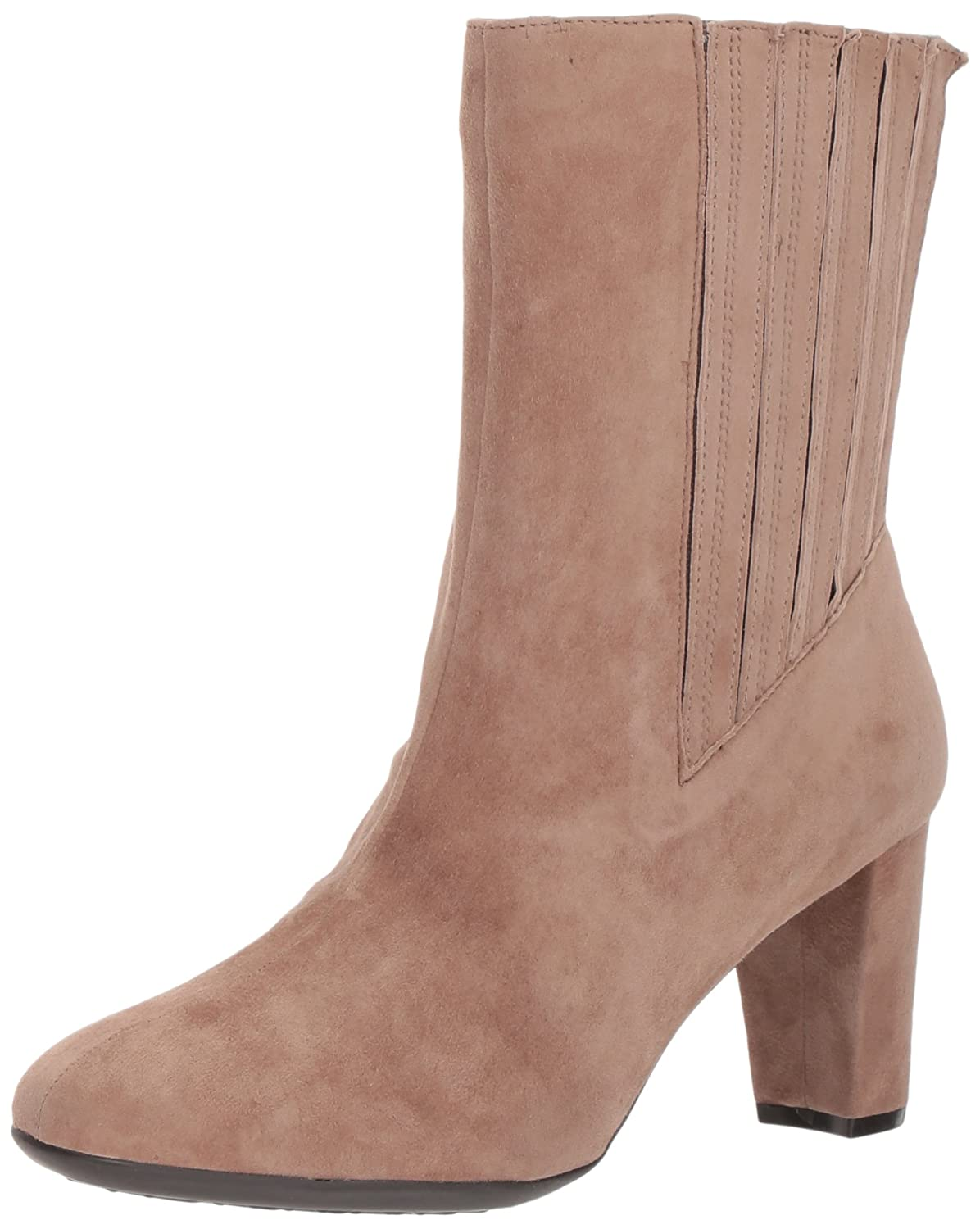 Aerosoles Women's Fifth Ave Mid Calf Boot B06Y5PQZ6Q 11 B(M) US|Taupe Suede