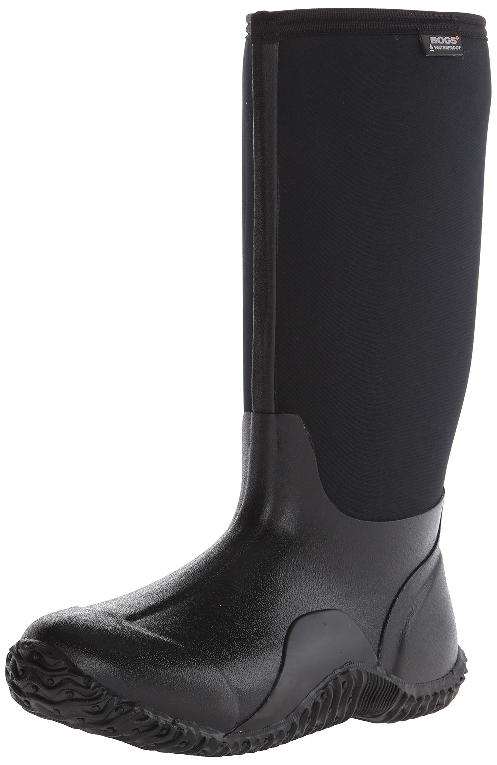 Bogs Women's Classic High Waterproof Insulated Boot, Black,8 M US