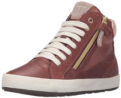 innovative design 6252d c9c85 Geox Girls' Jr Witty 16 - K Sneaker, Cognac, 30 EU(12 M US ...