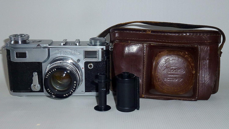 KIEV-4A URSS Unión Soviética Rusia 35 mm RF Contax Copy Film Cámara