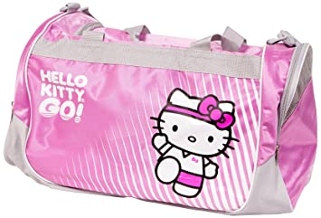 e8f3e9b67d5 Image Unavailable. Image not available for. Colour  Hello Kitty Sports Bag -Pink