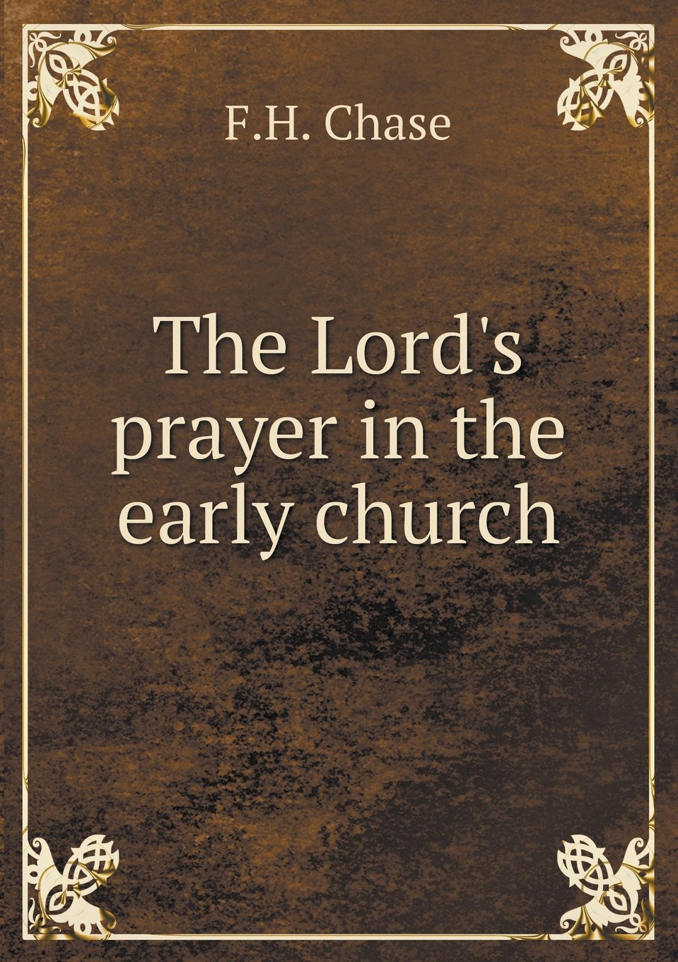 The Lord's prayer in the early church pdf epub