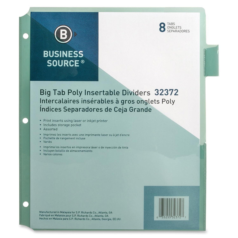 Amazon.com : Business Source Pocket Index Dividers (32372 ...
