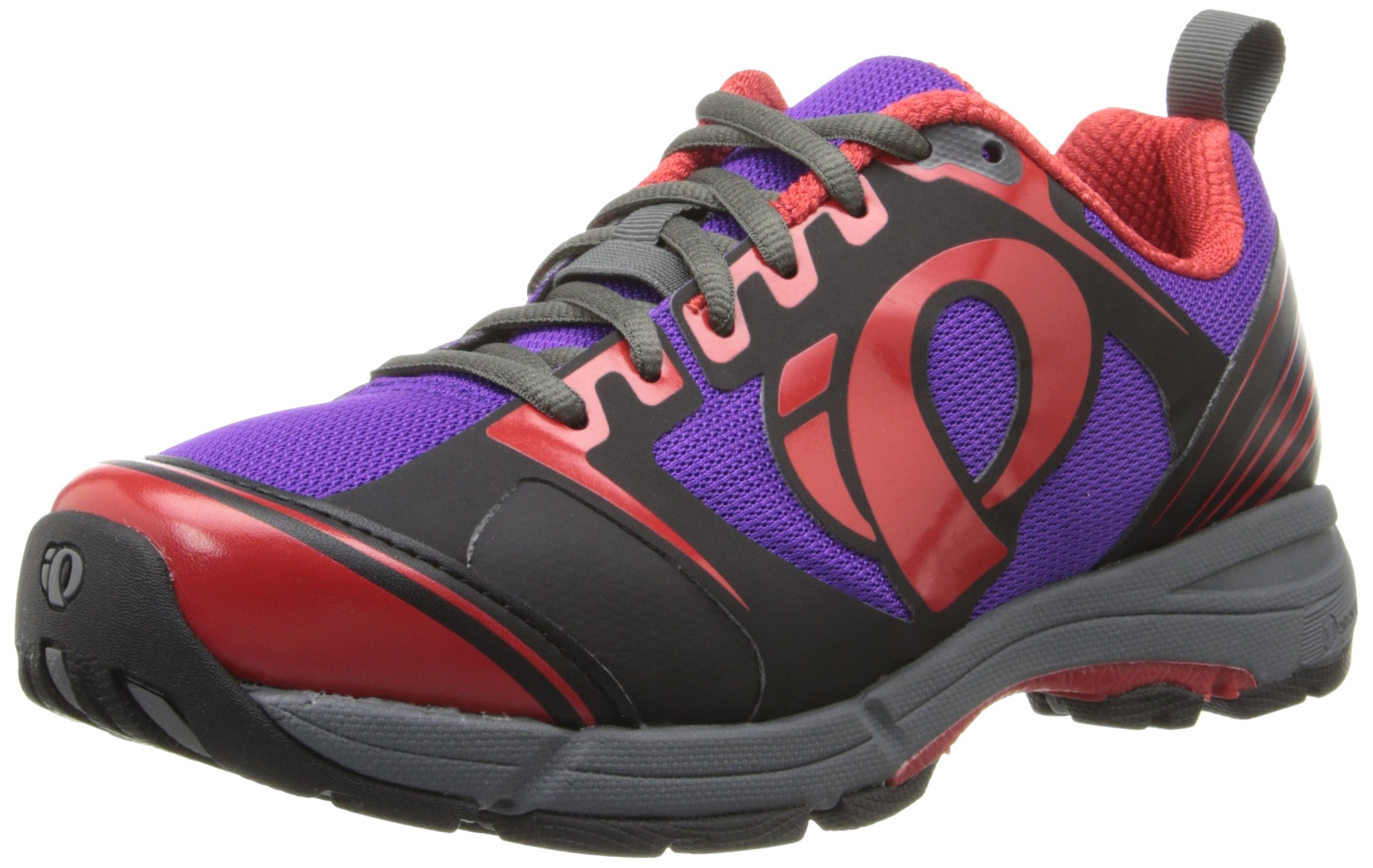 Pearl Izumi Women's W X-road Fuel Iii B/p Cycling Shoe, Black/Purple, 38 EU/6.8 B US