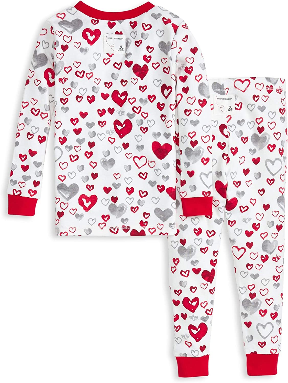 Burts Bees Baby Baby Girls Pajamas Tee and Pant 2-Piece Pj Set 100/% Organic Cotton