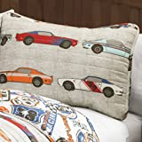 Lush Decor 16T000545 2 Piece Race Cars Quilt