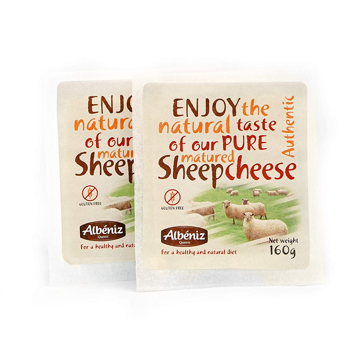 Sheep Cheese 2 pack (11.2 Oz total)