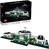 LEGO® Architecture collectie: Het Witte Huis 21054 modelbouwset, creatieve bouwset voor volwassenen (1483 onderdelen)