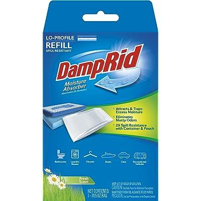 .com - DampRid FG46 Lo-Profile Refill Moisture Absorber, Fresh Scent -