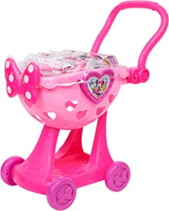 Minnie Happy Helpers Bowtique Shopping Cart Pink