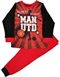 Kids Boys Manchester United Football Club Pyjamas Pjs Ages 3 to 12 Years