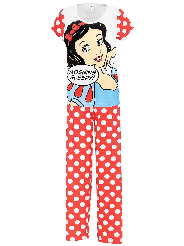 Disney Snow White - Pijama para mujer - Blanca Nieves - XX Large: Amazon.es: Ropa y accesorios