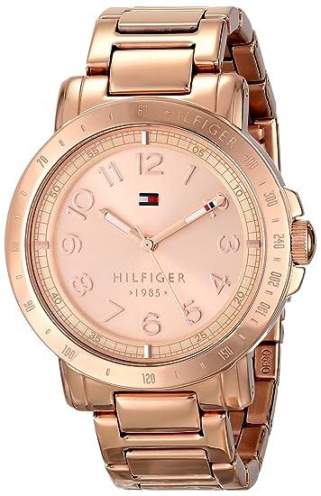 0eb05d84e6a Tommy Hilfiger 1781396 - Reloj de tono dorado rosa para mujer  Tommy ...