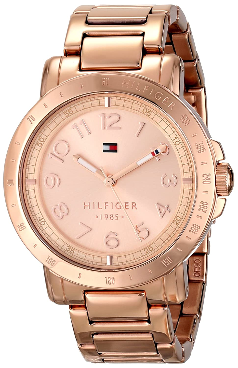 this timeless made versatile ch you swiss larsson jennings sophistication a wrist the gold watches ultimate chain and pair metal with milanese band rose in watch have by iconic original lugano detailed