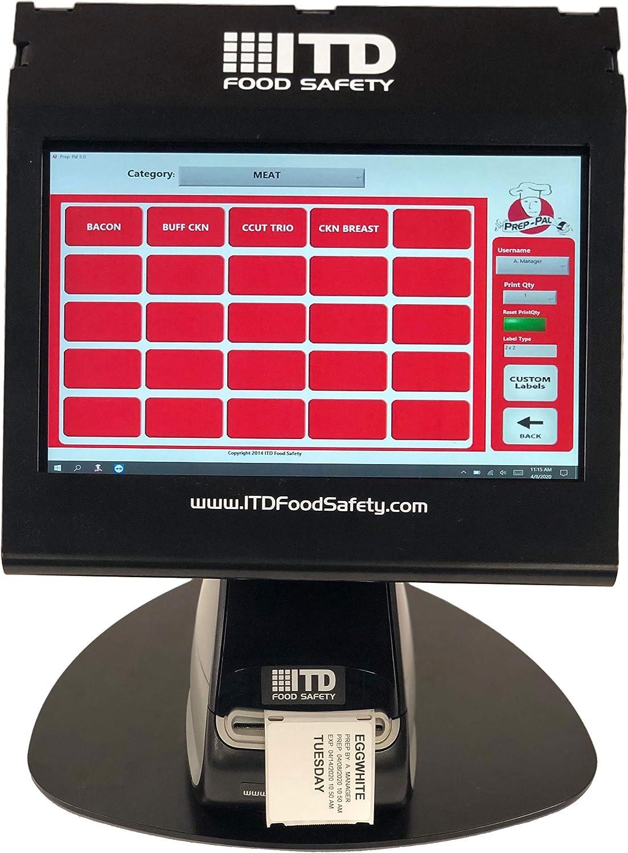Prep-Pal 3.0 Compact Food Rotation Label Printing Station