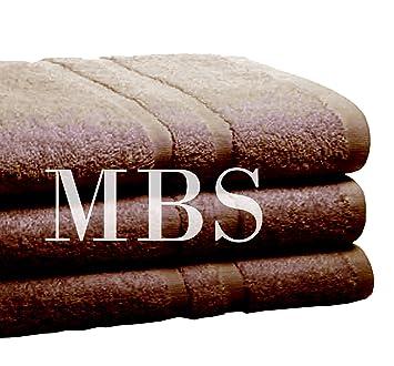 MBS Juego de 4 Toallas de algodón Egipcio Puro para baño, Set de Regalo de Jumbo para baño, Toallas de Bolsa, 85 cm x 165 cm: Amazon.es: Hogar