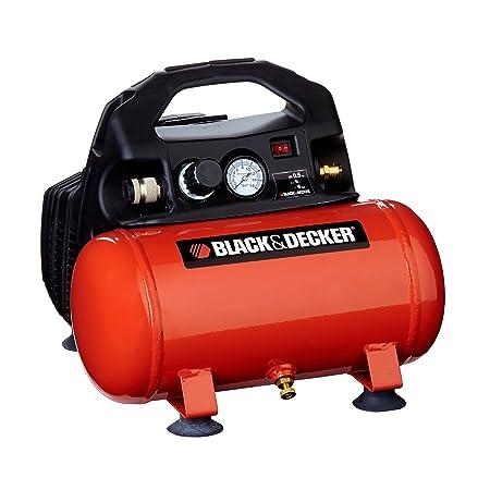 Black+Decker 1797 - Compresor con tanque de 6 L, sin aceite: Amazon.es: Bricolaje y herramientas