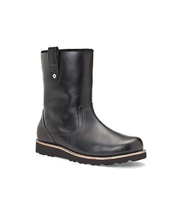 276ddeb3785 UGG Australia Mens Stoneman Boot Black Size 13: Amazon.co.uk: Shoes ...