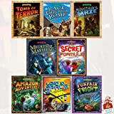 History Quest and Science Quest Series 8 Books Collection Set With Gift Journal (Tomb of Terror, Race Through Rome, Minotaur's Maze, Medieval Mayhem, The Secret Formula, Amazon Adventure, Lost in Space, Fun Fair Fright)
